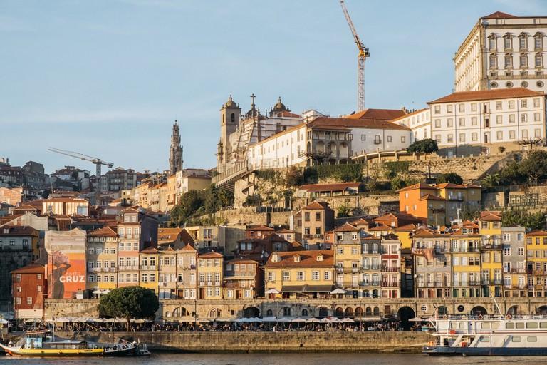 DSCF2595 - WATSON - VILA NOVA DE GAIA, PORTUGAL - V IEW OF RIBEIRA FROM VILA NOVA DE GAIA