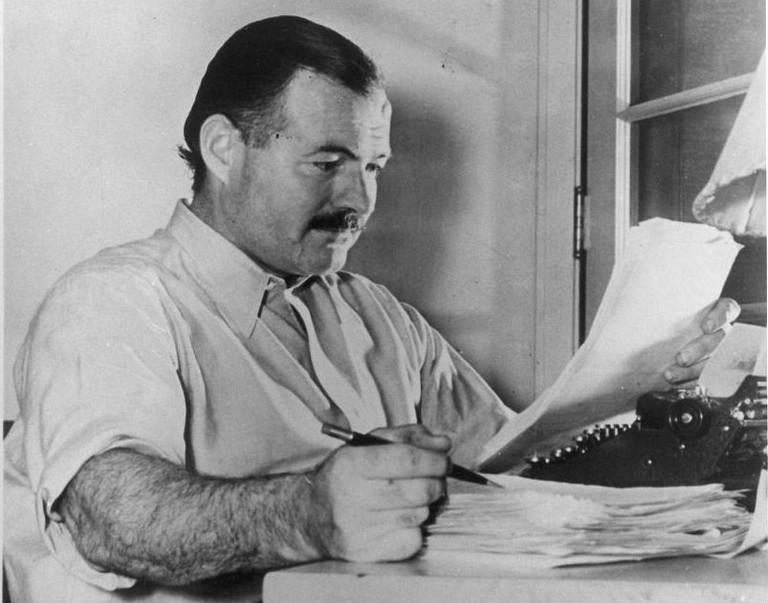 Ernest Hemingway in 1930