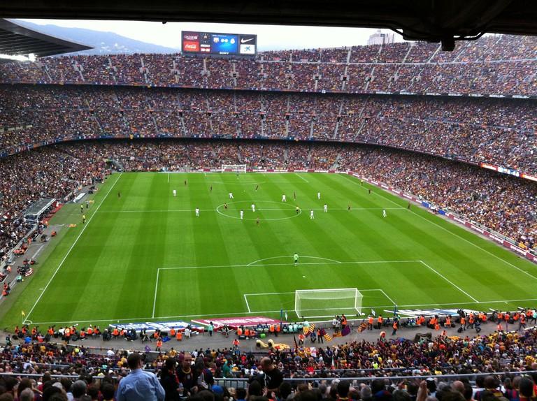 The Camp Nou stadium CC0 Pixabay
