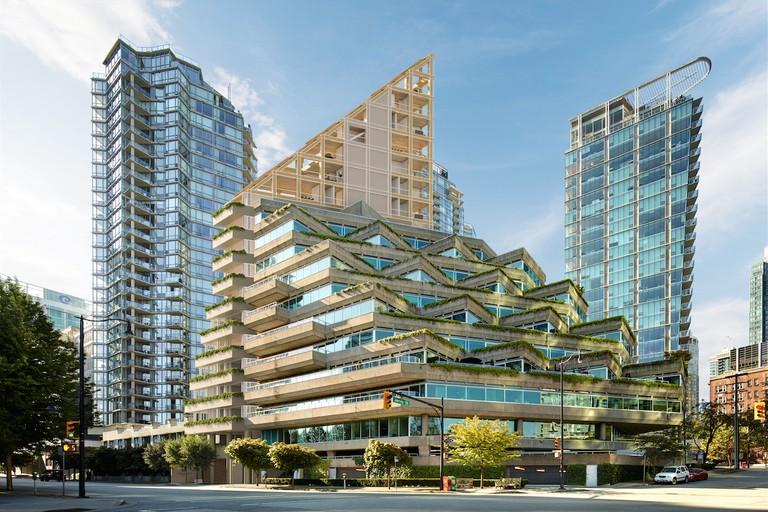 Terrace House & Evergreen Building