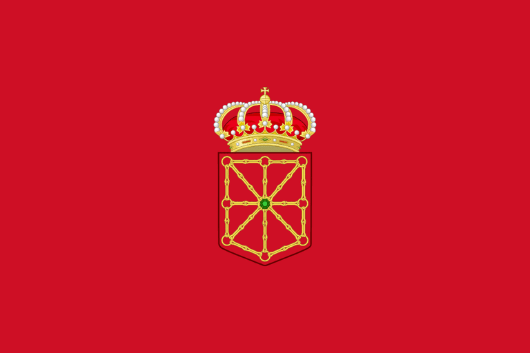 flag of Navarre | ©Adelbrecht / Wikimedia Commons