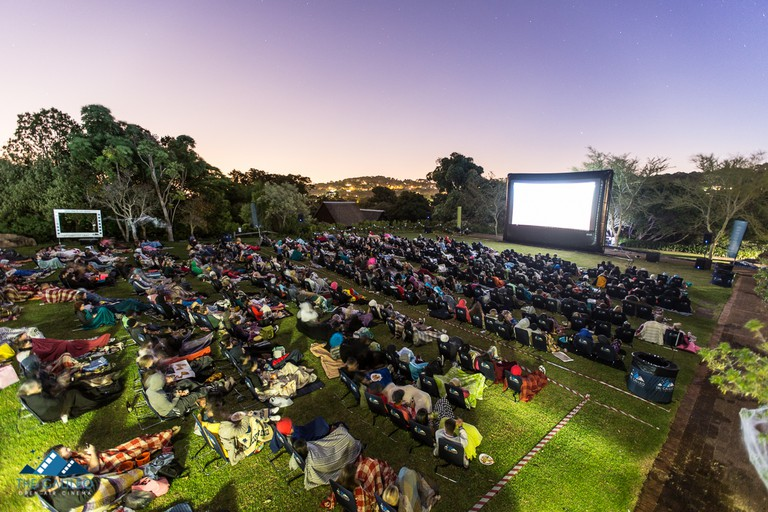 Movie under the stars at The Galileo