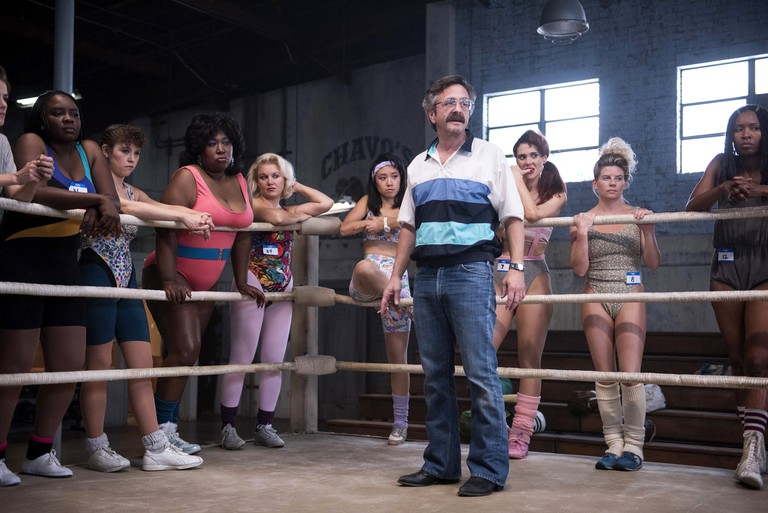 Chavo Guerrero's uncle, Mando, trained the real-life GLOW wrestlers.