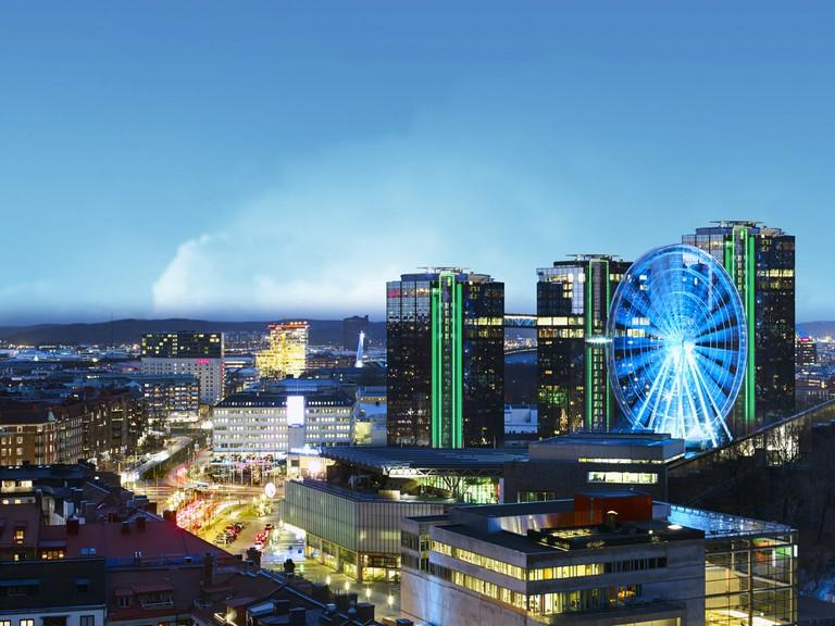 Enjoy unbeatable views from Gothia Towers