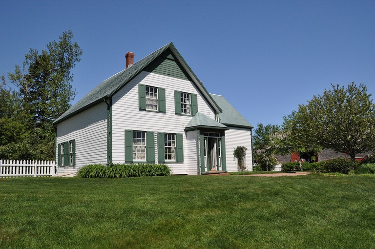 The Green Gables homestead