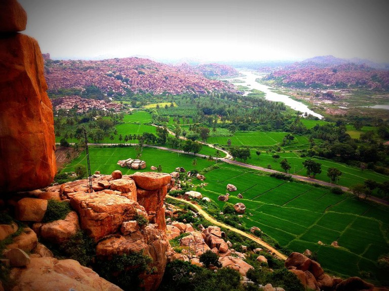 Hampi from Rooftop