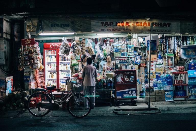 Saigon by night │