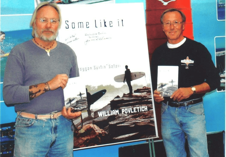 "Larry Williams (left) and Lee Williams promoting ""Some Like It Cold"" 