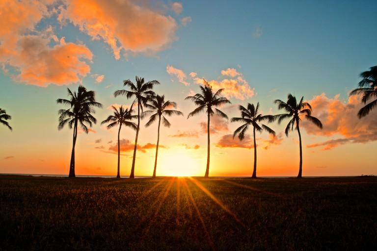 Sunset in Hawaii | © GE Keoni