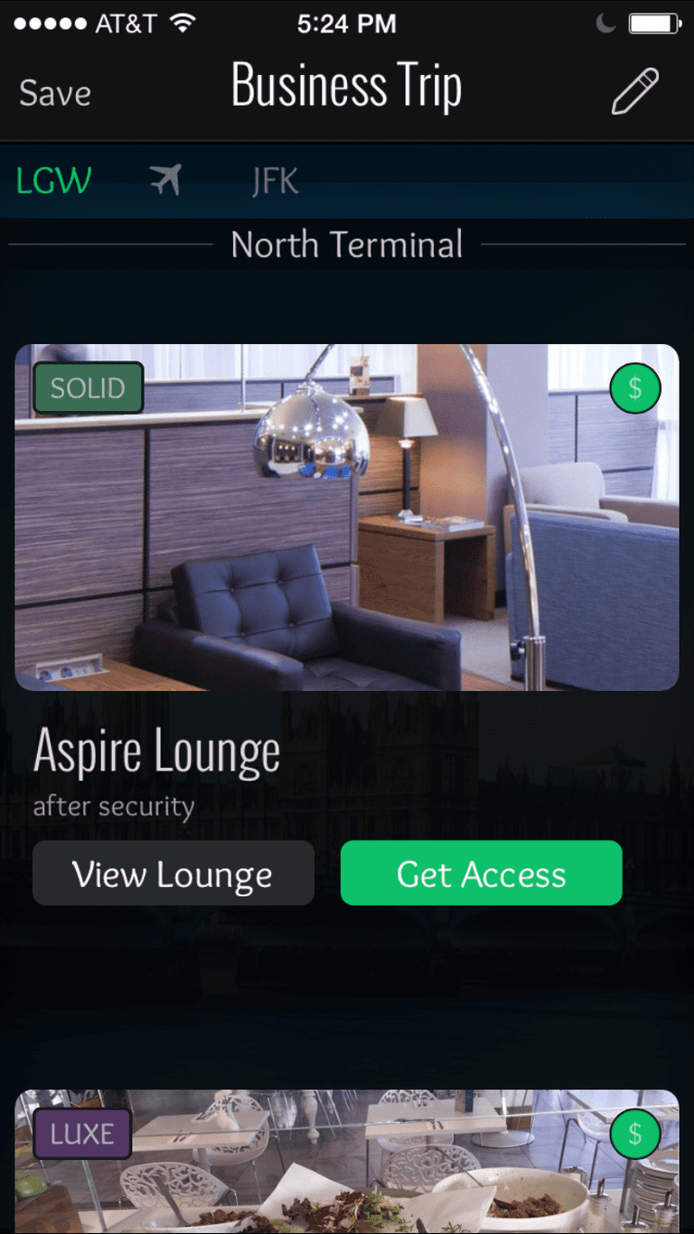 Getting access to an airport lounge couldn't be easier