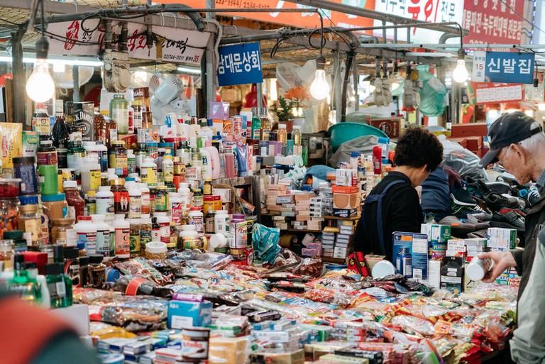 Gwangjang Market-Seoul-South Korea