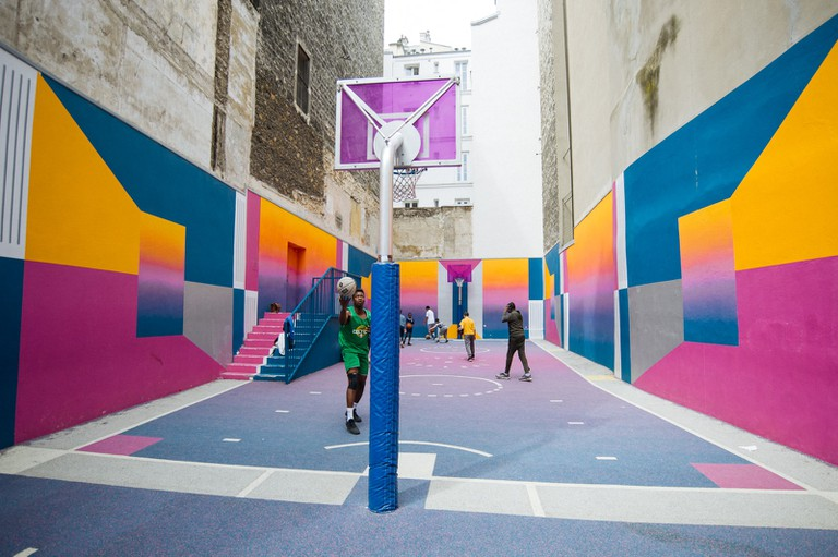 Pigalle Basketball Court-Paris-France-McCarthy