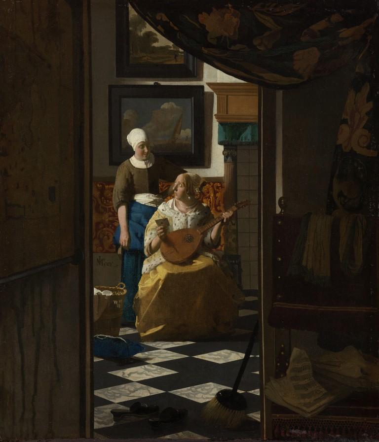 Johannes Vermeer, 'The Love Letter', c.1669-70