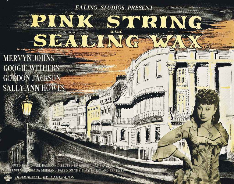 """Pink String and Sealing Wax"""