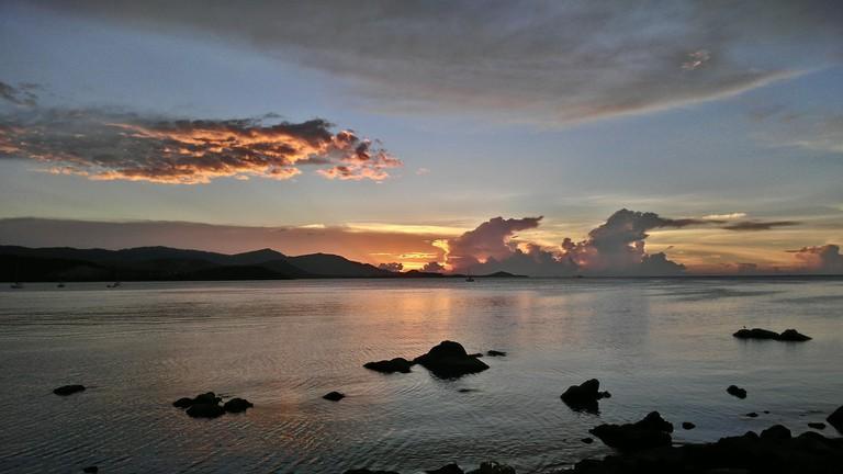 Koh Samui Sunset Courtesy of svetterli68/Pixabay