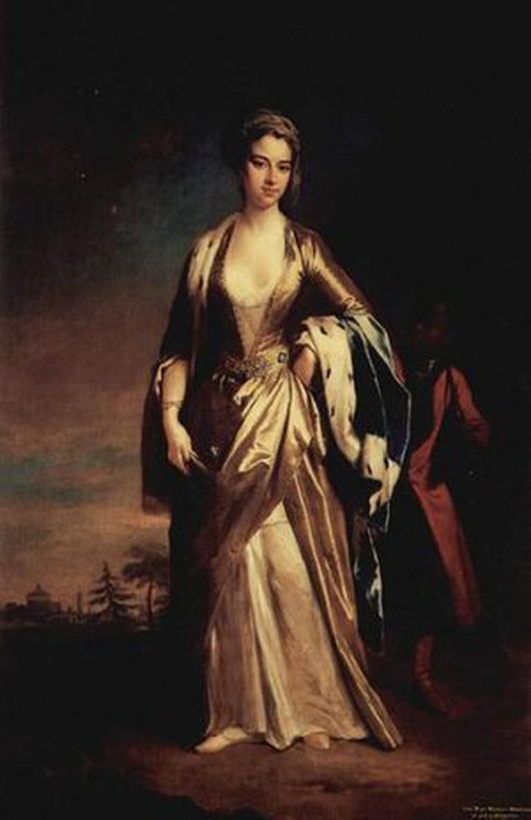 Lady Montagu, painted by Jonathan Richardson