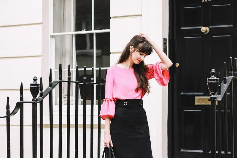 Larinne fashion blogger Budapest