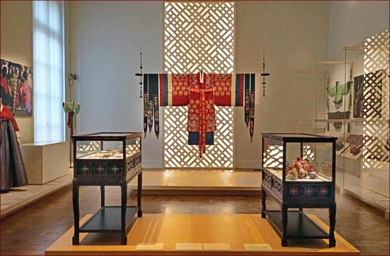 """L'exposition """"Intérieur coréen"""" (musée Guimet, Paris) │© Jean-Pierre Dalbéra / Flickr"""