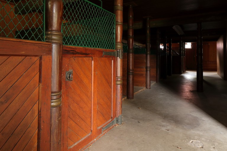 Interior of the livery