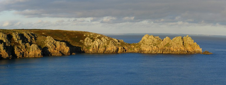 View from Minack Theatre