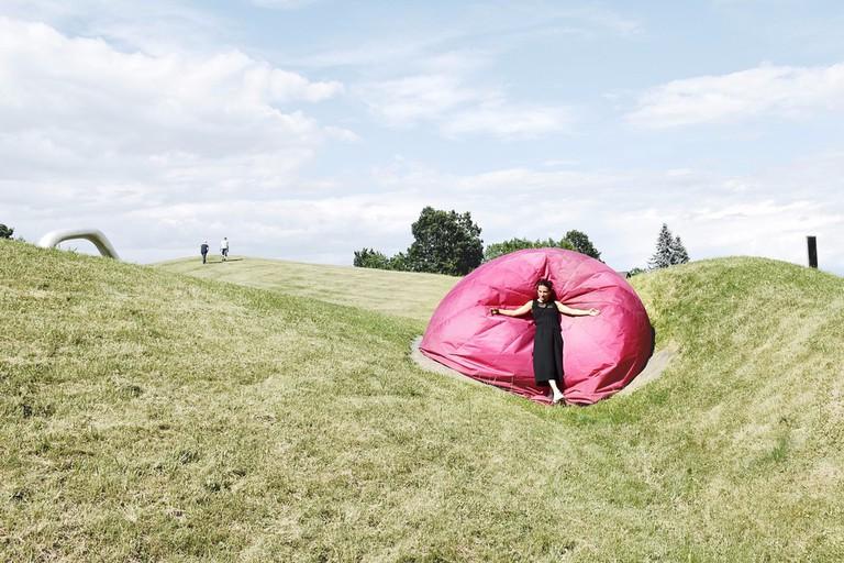 Austrian Sculpture Park near Graz Brand highlight culture: Always right in the middle. Influencer tour