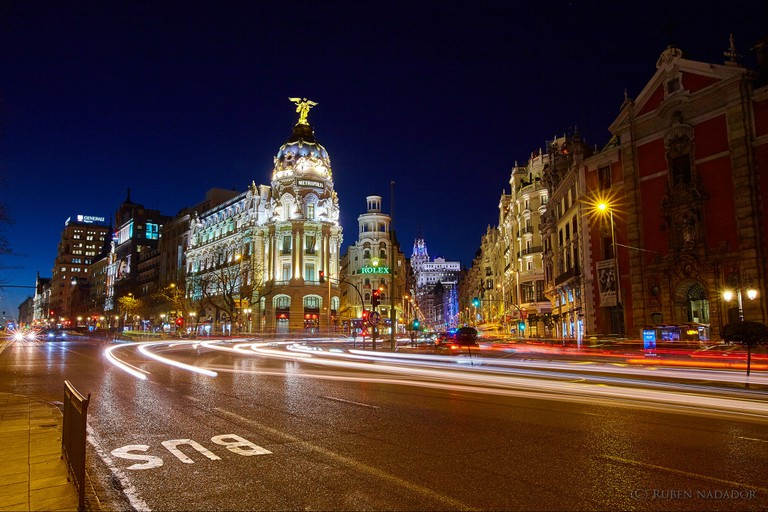 Make sure to wait until the sun has gone down to have dinner in Madrid
