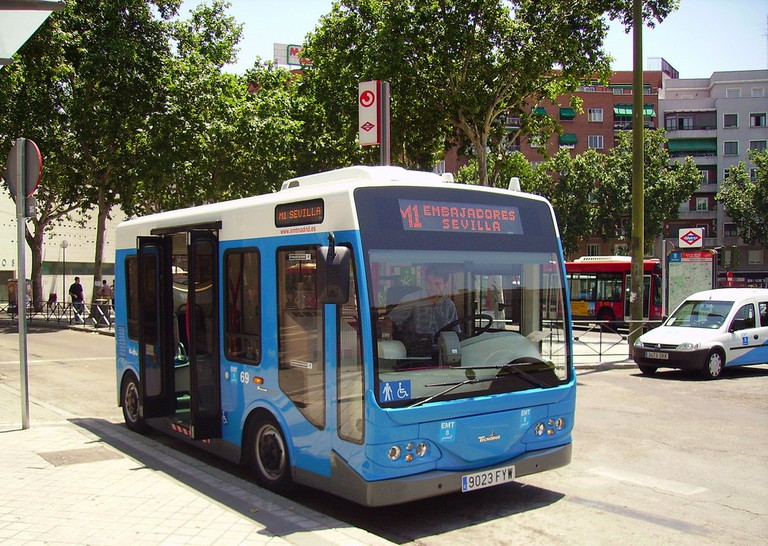 Make the most of the air conditioning on Madrid's public transport