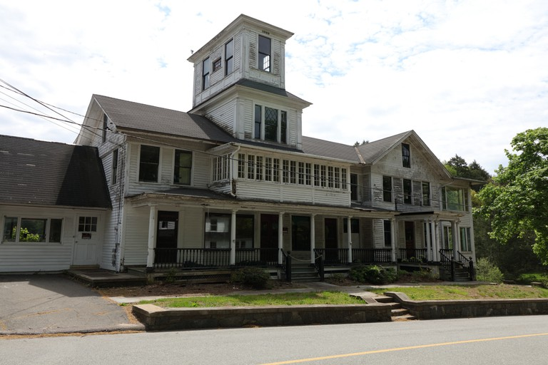 Front exterior of the main house