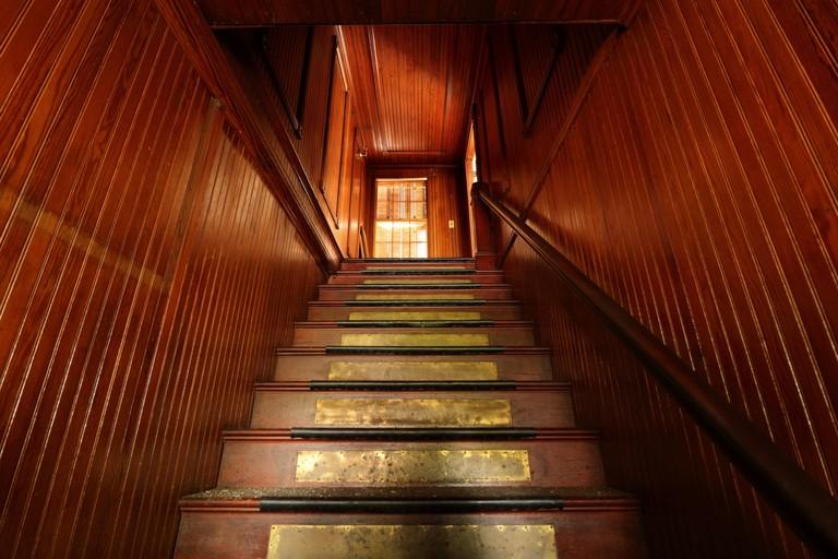 Main House interior stairwell
