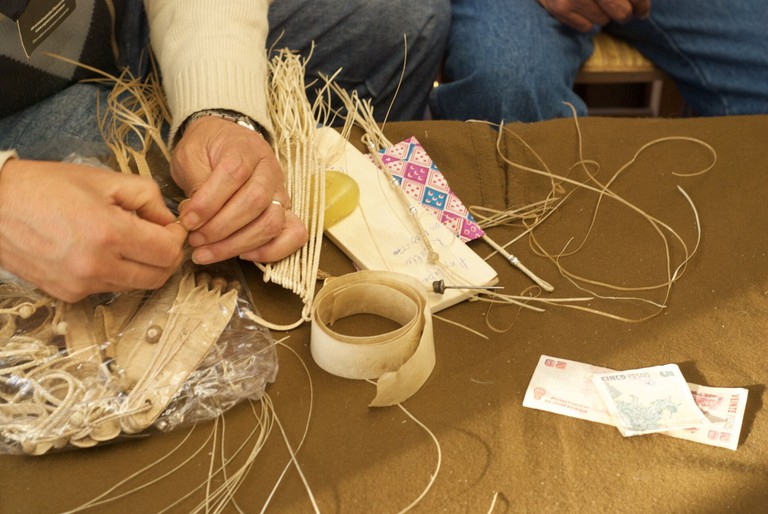 Craftmaking at the 2011 La Rural Agricultural Fair