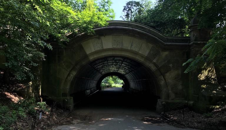 Meadowport Arch, 1868–70, Ohio sandstone