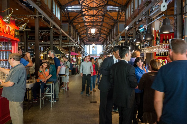 Mercado San Miguel is a great place to sample some Spanish food and drink