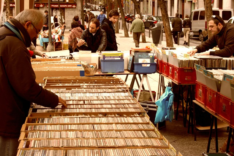 The market on Plaza 2 de Mayo