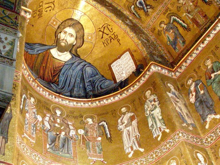 Monreale Christus Pantokrator©Martin aka Maha/Flickr
