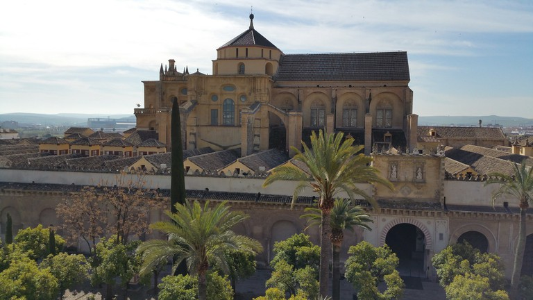 Cordoba's mosque-cathedral is in the former Jewish neighbourhood