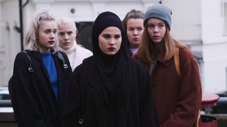 The international cult hit TV series SKAM explores Muslim-Norwegian Sana's experiences this season