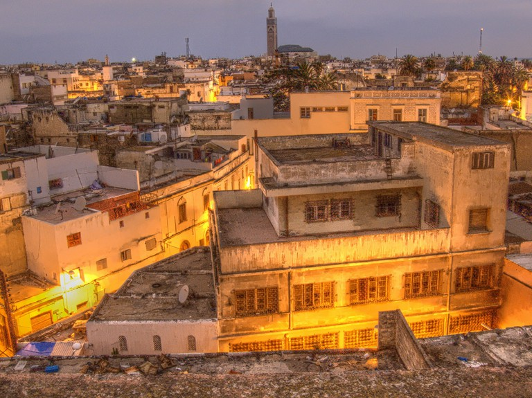 "<a href=""https://www.flickr.com/photos/dragunsk/2623150112/"" target=""_blank"">Evening views across Casablanca's Old Medina"