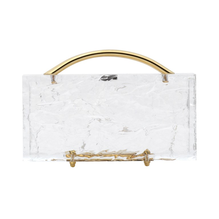 The Eugene Black Marble clutch