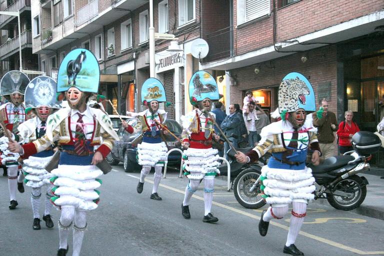 Os Peliqueiros Carnival, Galicia | ©dantzan / Flickr