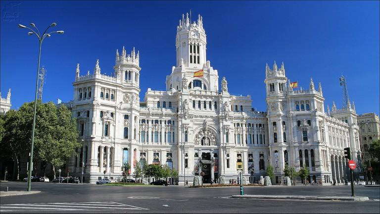 Madrid's Palacio de Cibeles