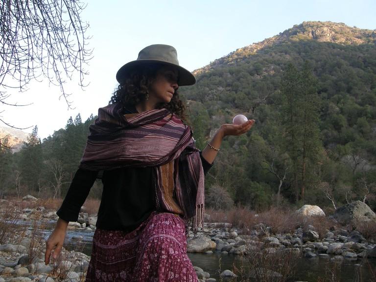 Paloma Cervantes, a self-professed shaman