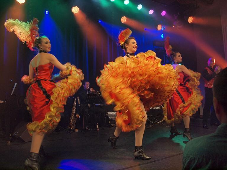 A caberet act at Casino Helsinki / WikiCommons