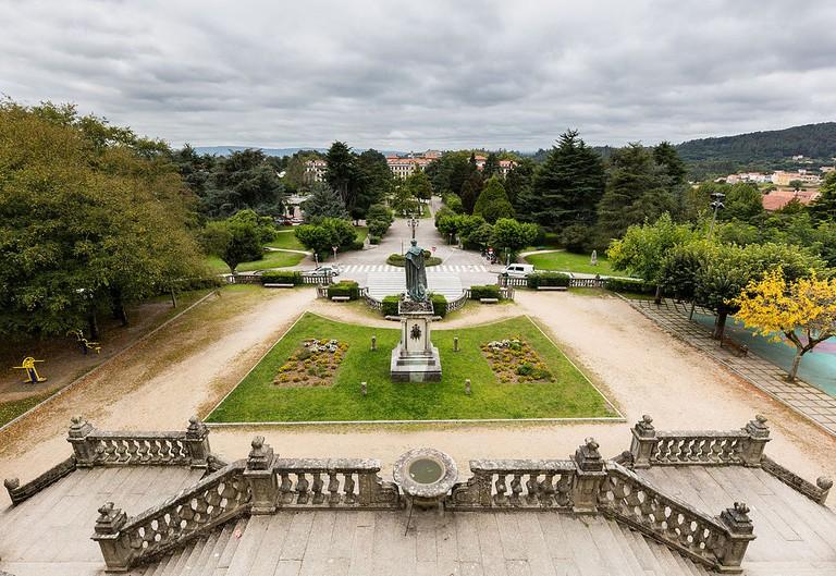 Alameda Park, Santiago de Compostela, Spain