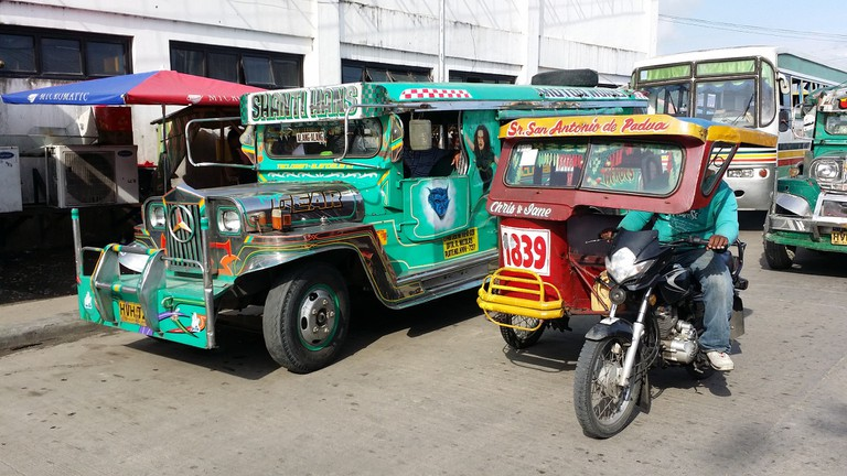 Jeepney and Tricycle