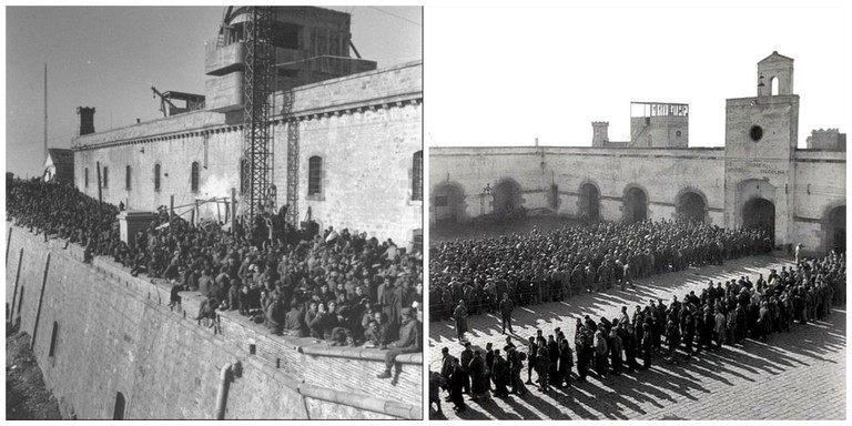Montjuïc castle served as a military base © myBCN Loves Barcelona