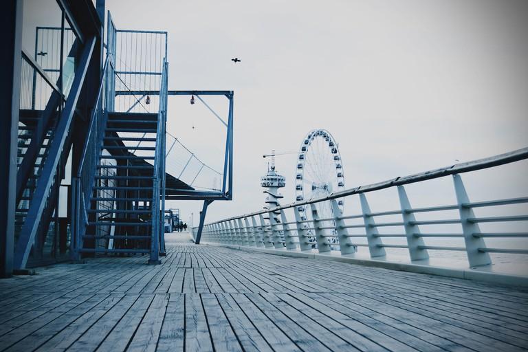 SkyView ferris wheel on Schevingen pier