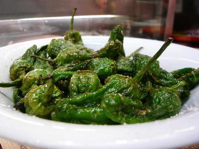 Pimientos de Padrón - Galician dishes | ©Jessica Spengler / Flickr