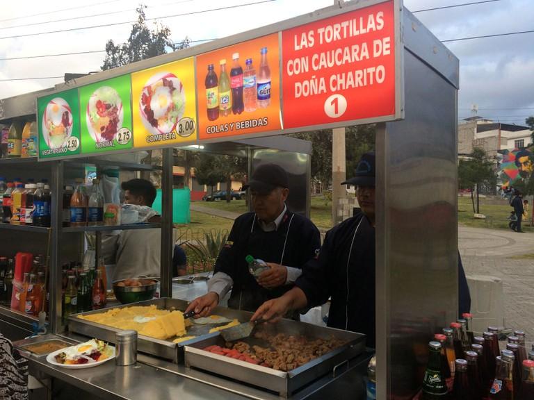Dishing up at the Mercado de las Tripas I