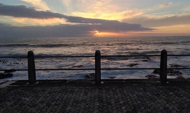 Sea Point Promenade at sunset