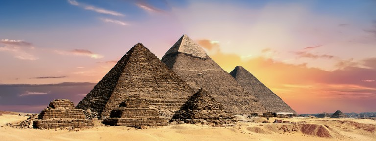 Take your cue from the Ancient Egyptians